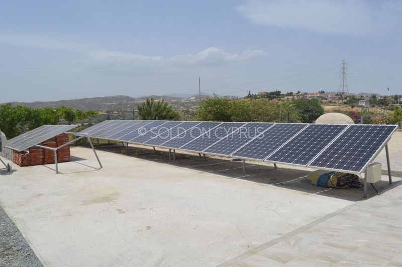 Private solar power supply