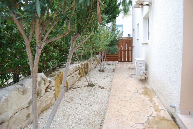 Garden Area at Side of Apartment
