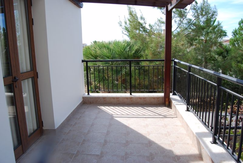 Veranda Accessed by Two Bedrooms