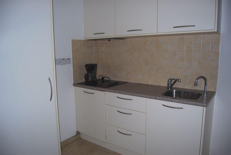 Kitchenette in Studio Apartment