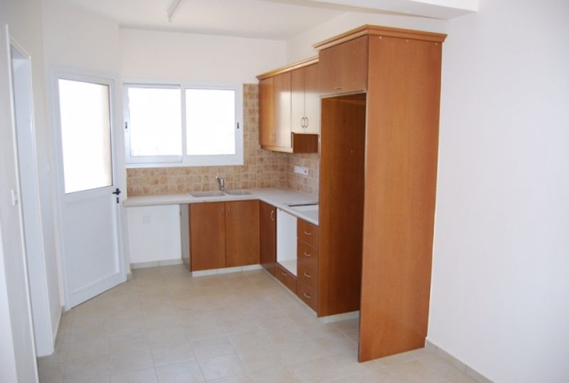 kitchen with access to back balcony
