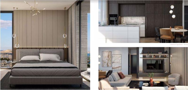 Bedroom/kitchen/lounge  area