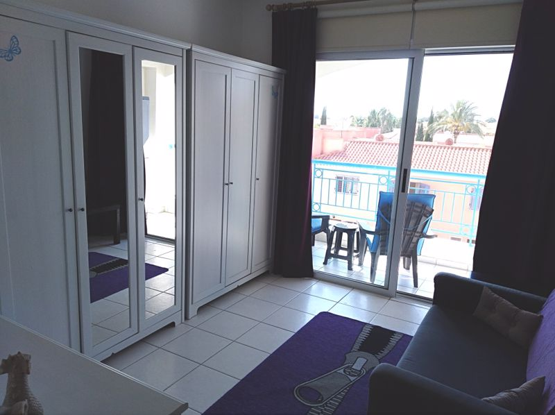 Bedroom 3 with Access to Shared Balcony