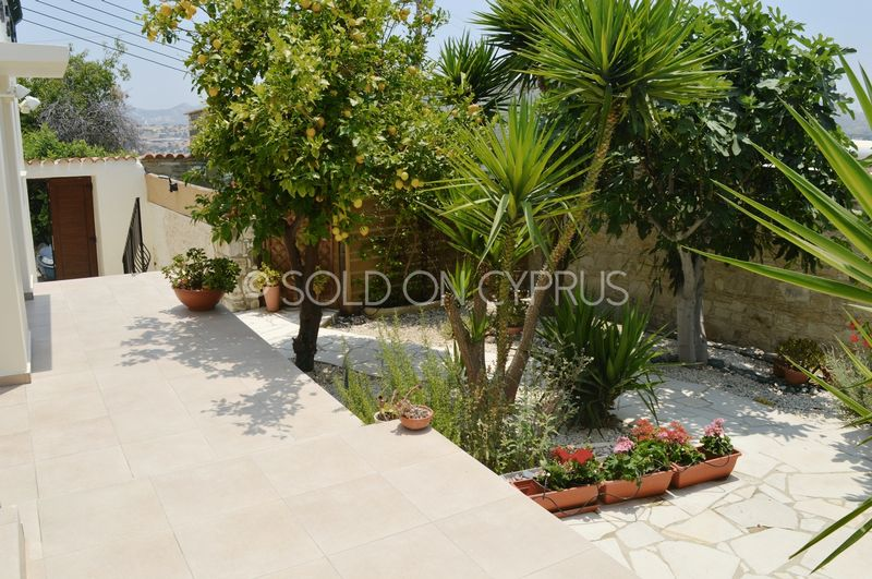 Court yard and gardens