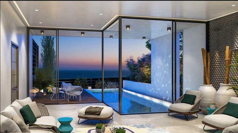Lounge area/pool