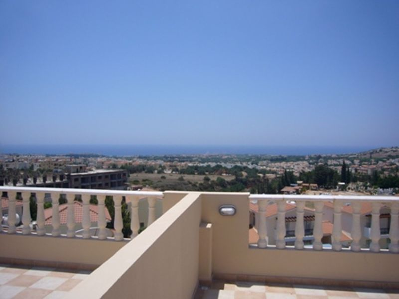 Sea view from roof garden