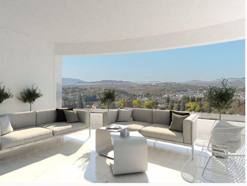 Penthouse balcony