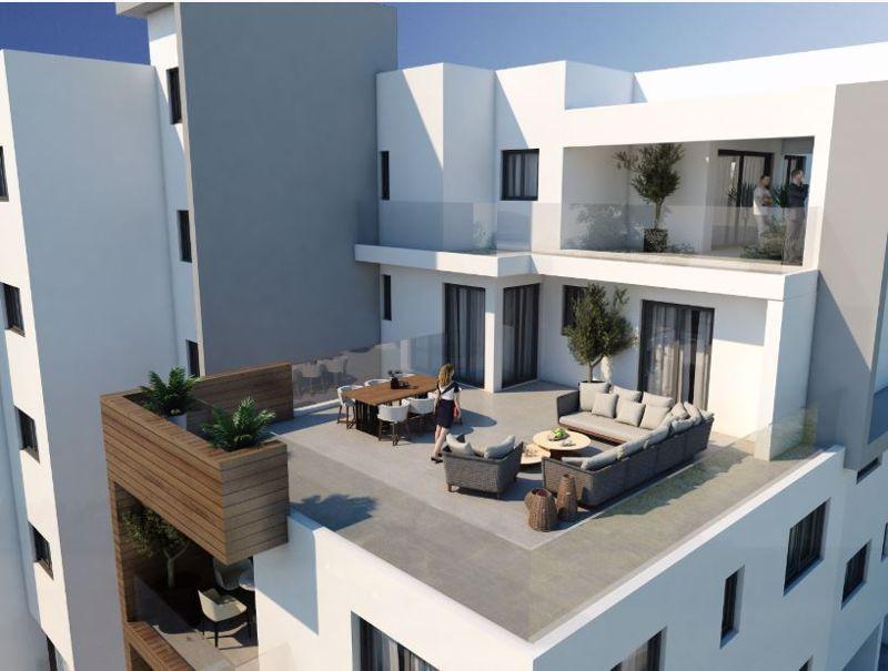 Penthouse garden