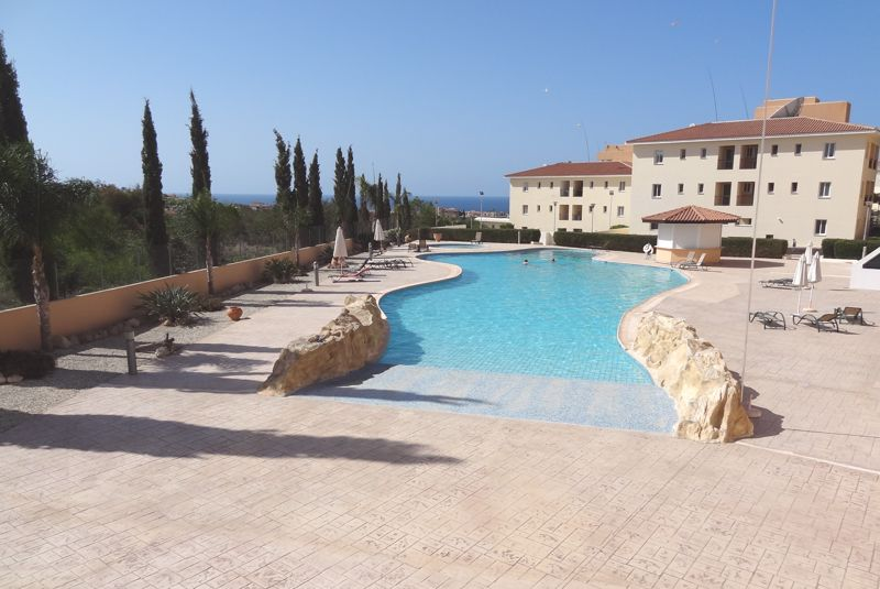 Communal Pool with Sea View