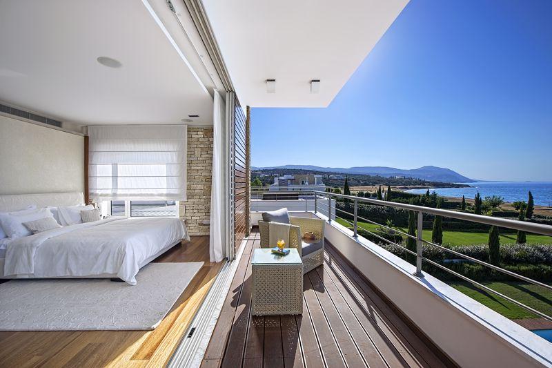 Master Bedroom with Private Covered Veranda