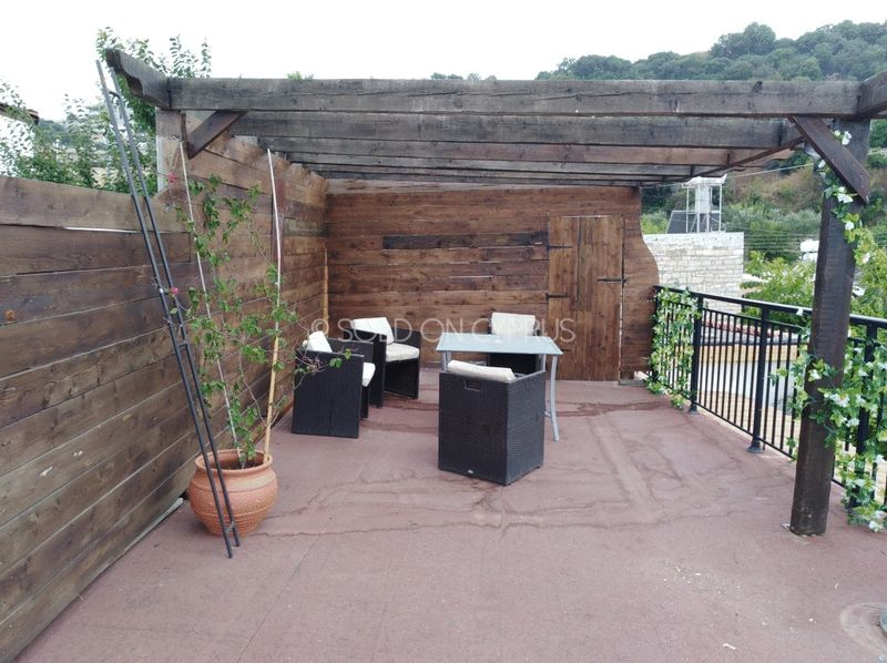 Large Roof Terrace With Pergola