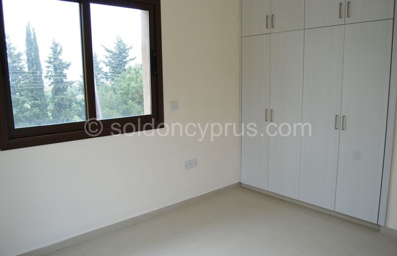 Villa 1 - Double Bedroom eith Fitted Wardrobes