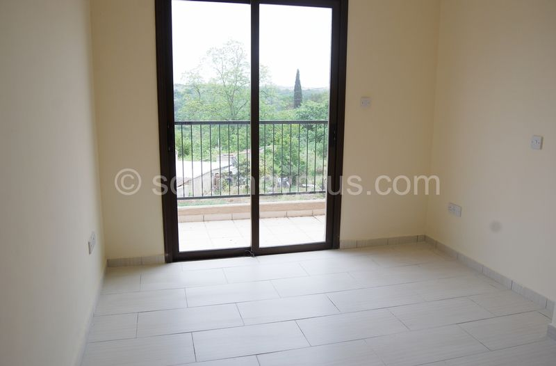 Villa 2 - Double Bedroom with Fitted Wardrobes