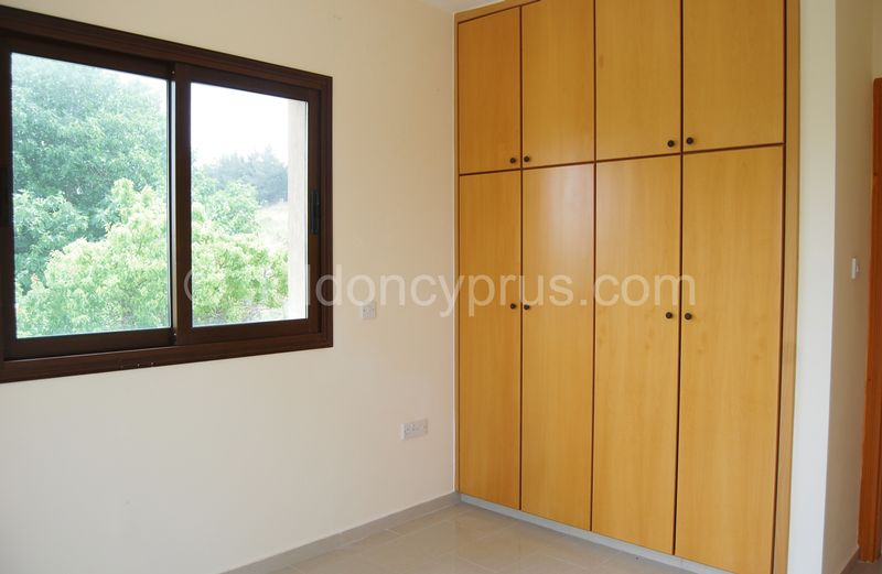 Villa 4 - Double Bedroom with Fitted Wardrobes
