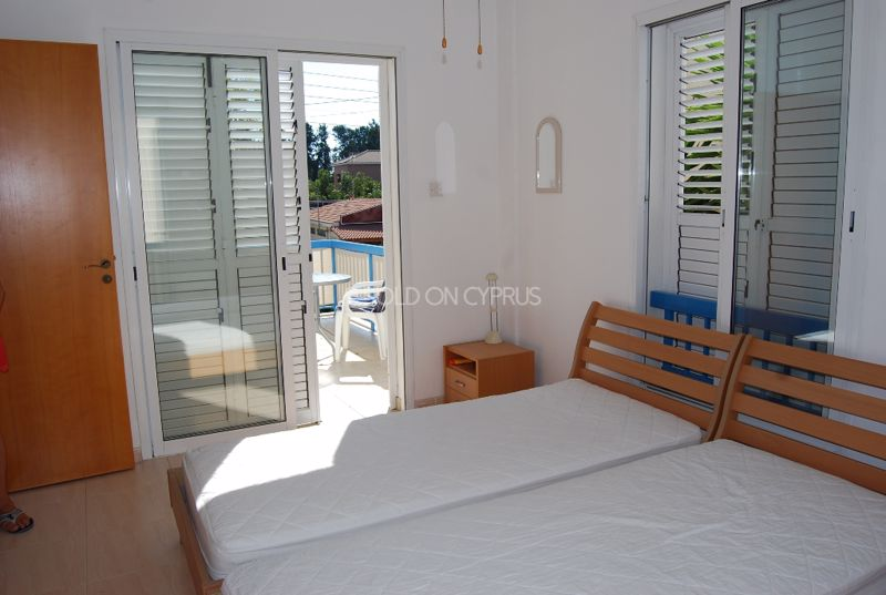 View Of Twin Room From Private Balcony