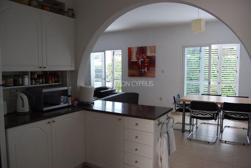 View Of Kitchen From Rear Door