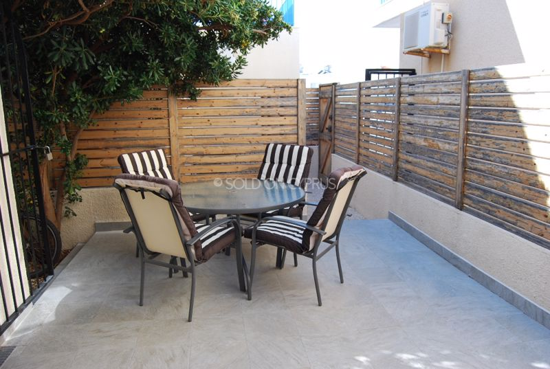 Patio Directly From Kitchen