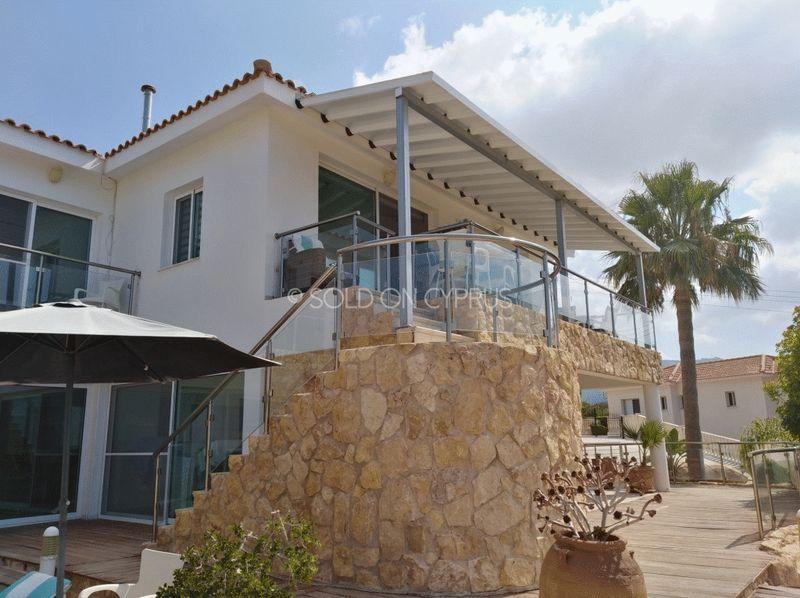 Rear of Villa