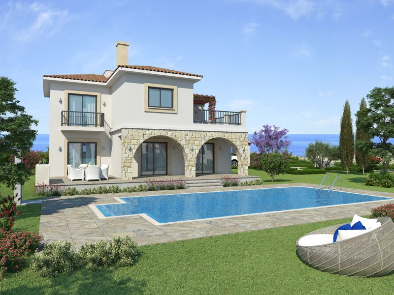 4 Bedroom villa example (Artist impression)