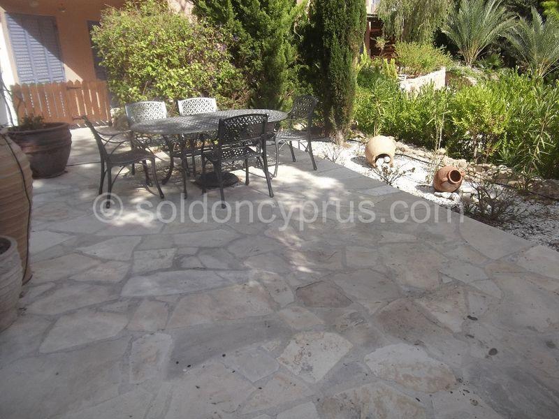 Private Patio and Garden Area