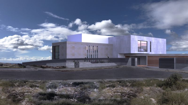 Front View (artists impression)