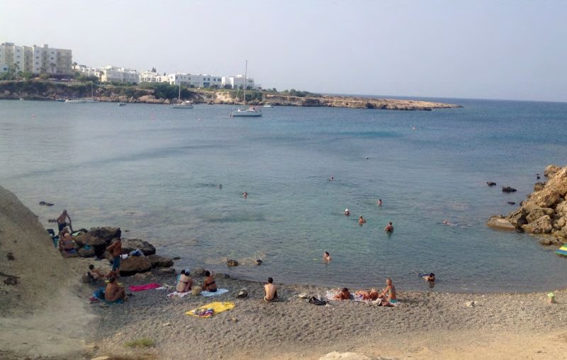 Private Beach In Front Of Villa