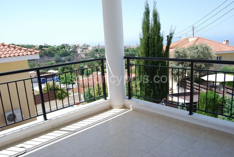 Large Balcony with Sea View