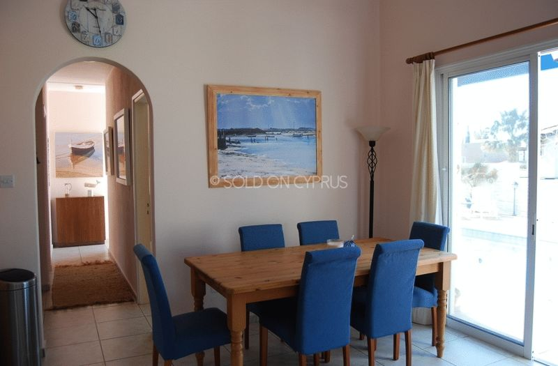 Dining Area with Pool Access