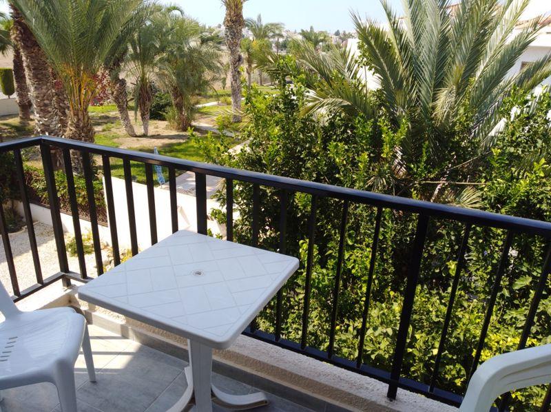 Balcony Overlooking Lemon Trees