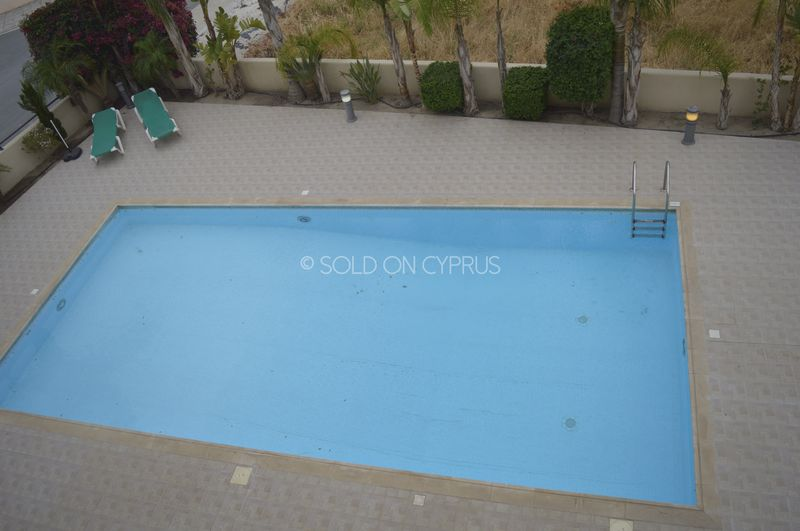 Communal pool from balcony
