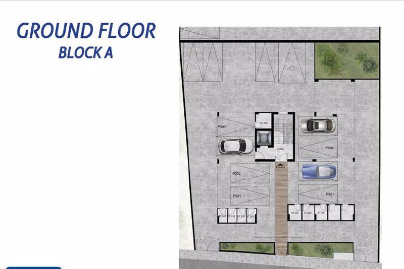 Ground floor Block A