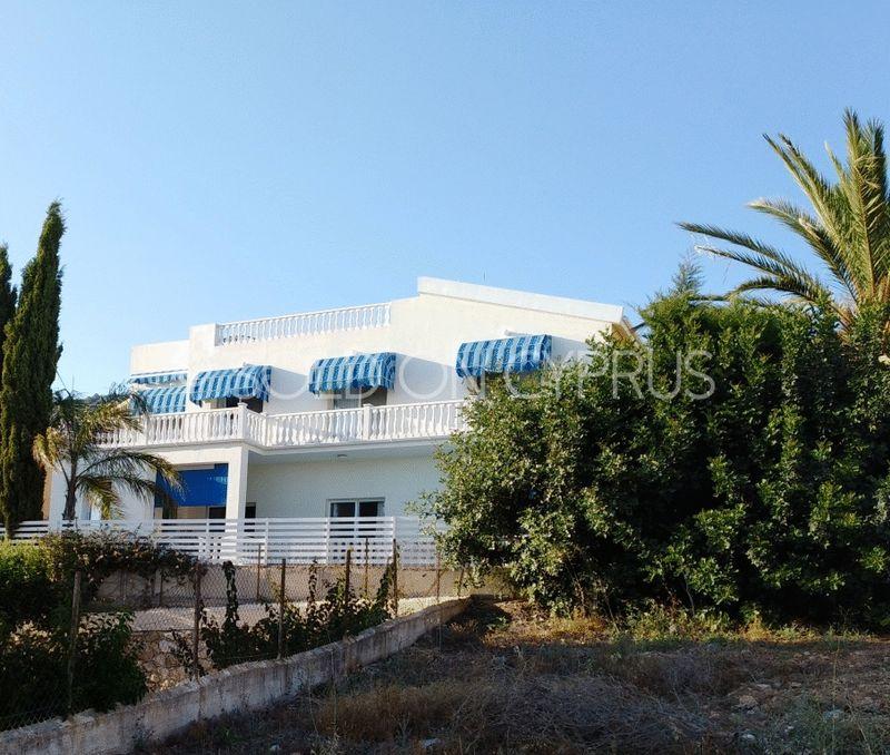 Rear View of Villa