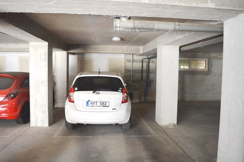Allocated covered parking bay