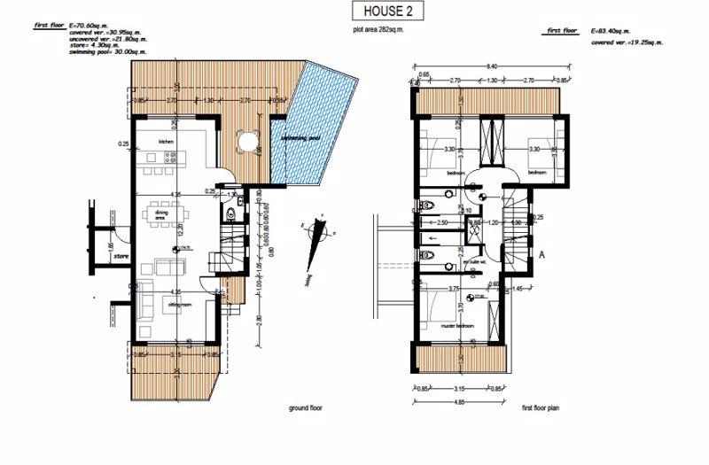 Floor Plans - Villa 2 (Artist Impression)