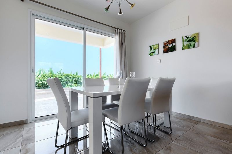 Developer's Typical Dining and Kitchen Area