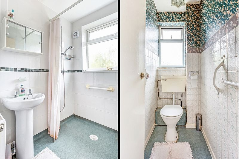SHOWER ROOM / SEPARATE W.C.
