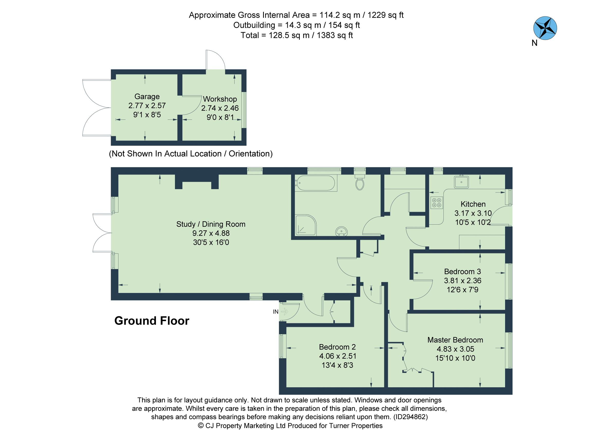 The Godfrey House Plan Acremead Road Wheatley Oxford