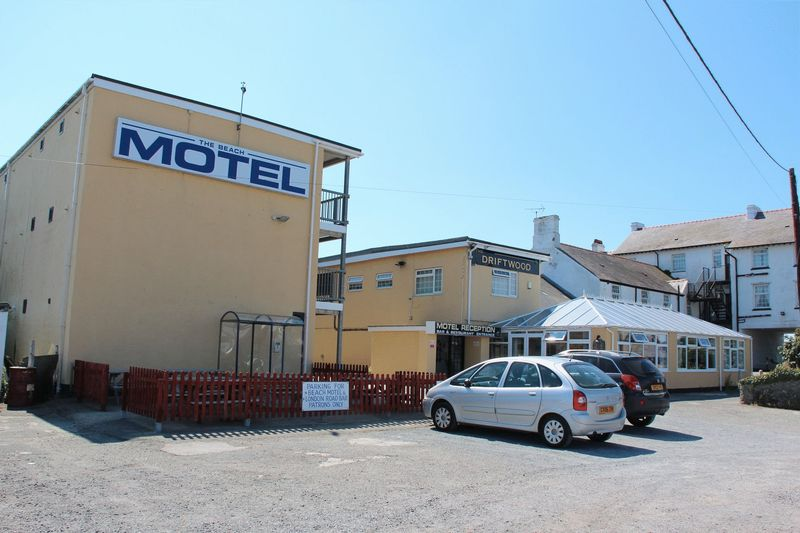 Adjacent to the Beach Motel, Lon St. Ffraid