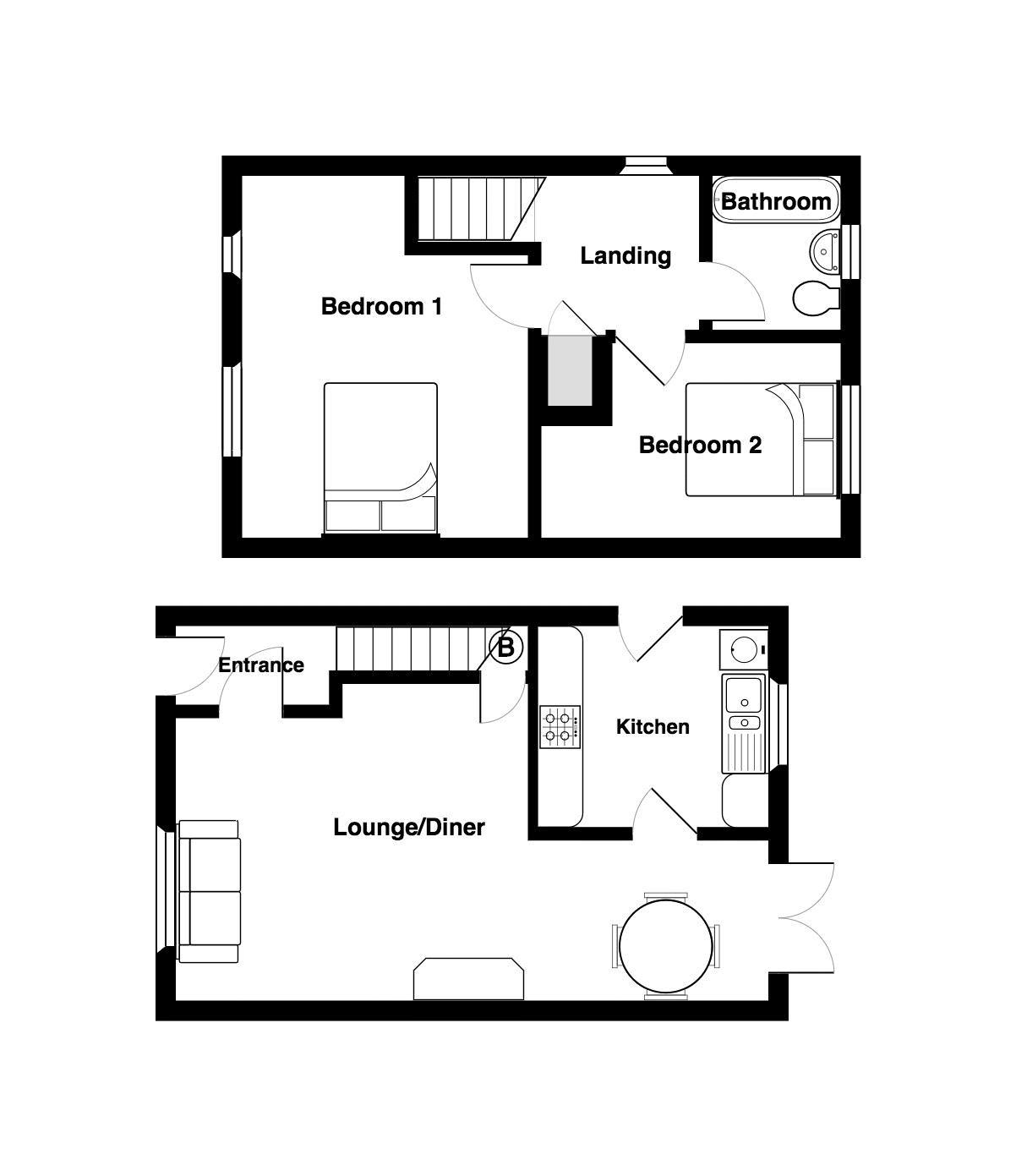 27 Sunnyfield Floorplan