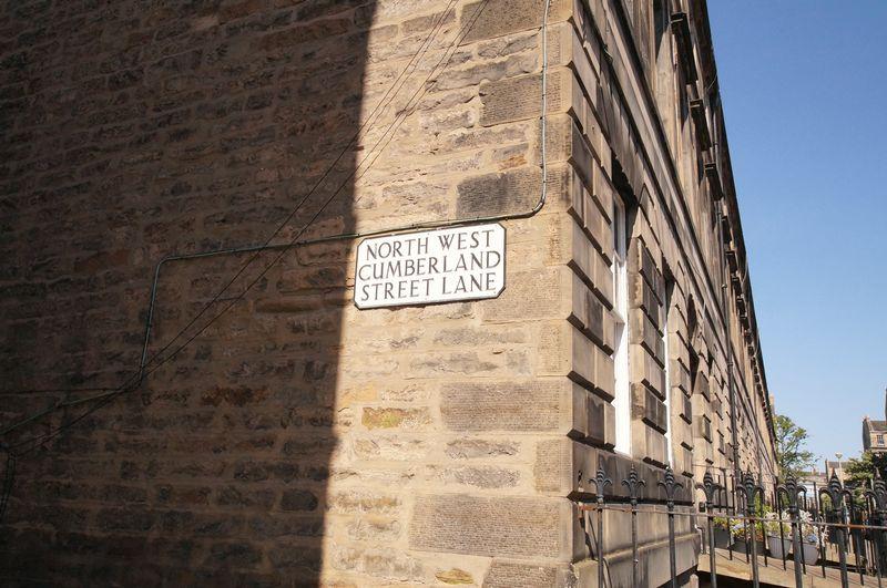 Cumberland Street, North West Lane, New Town