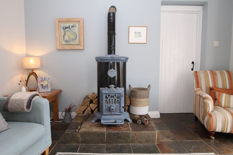 """Godin"" wood burning stove"