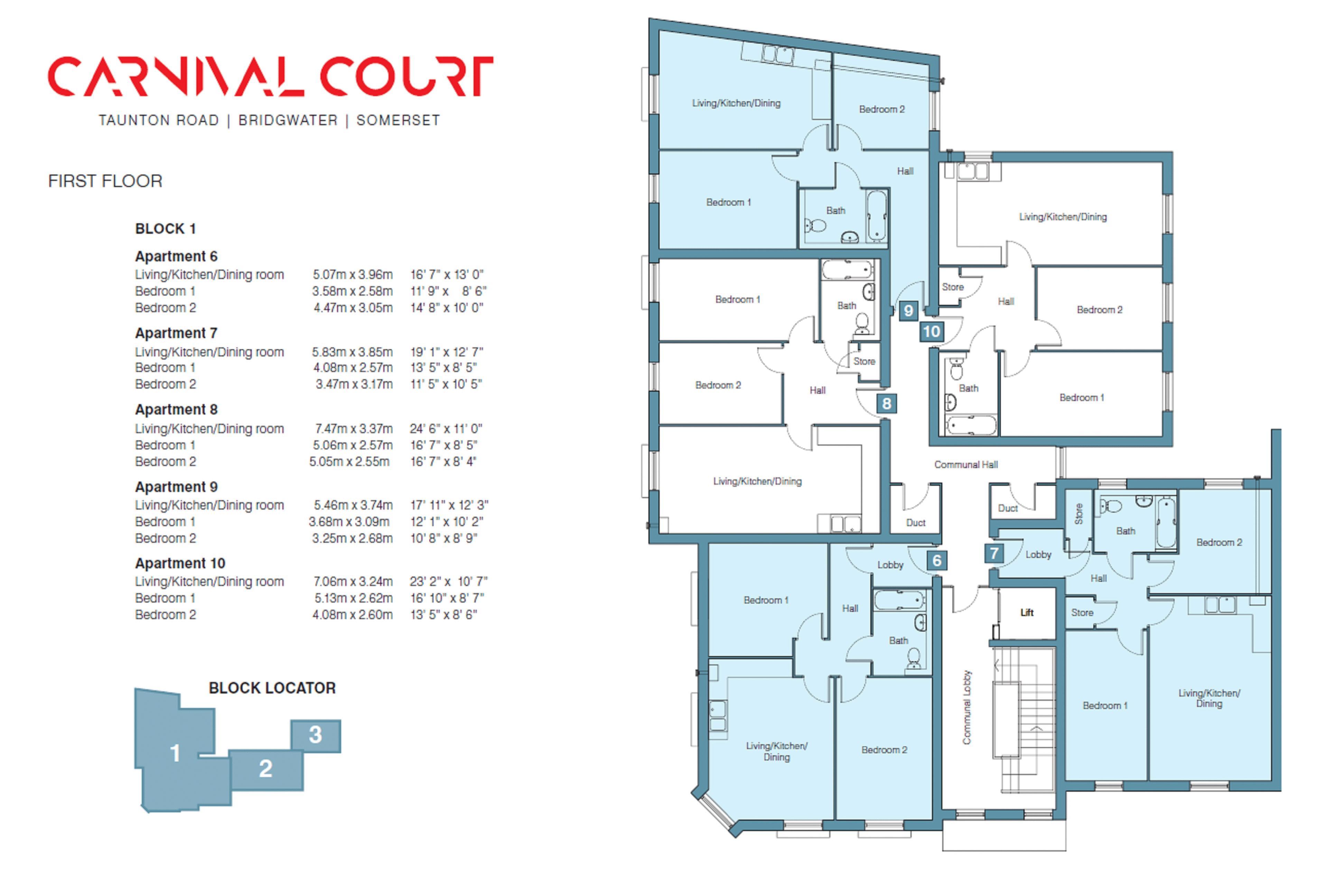 Apartment 7 Carnival Court, Taunton Road