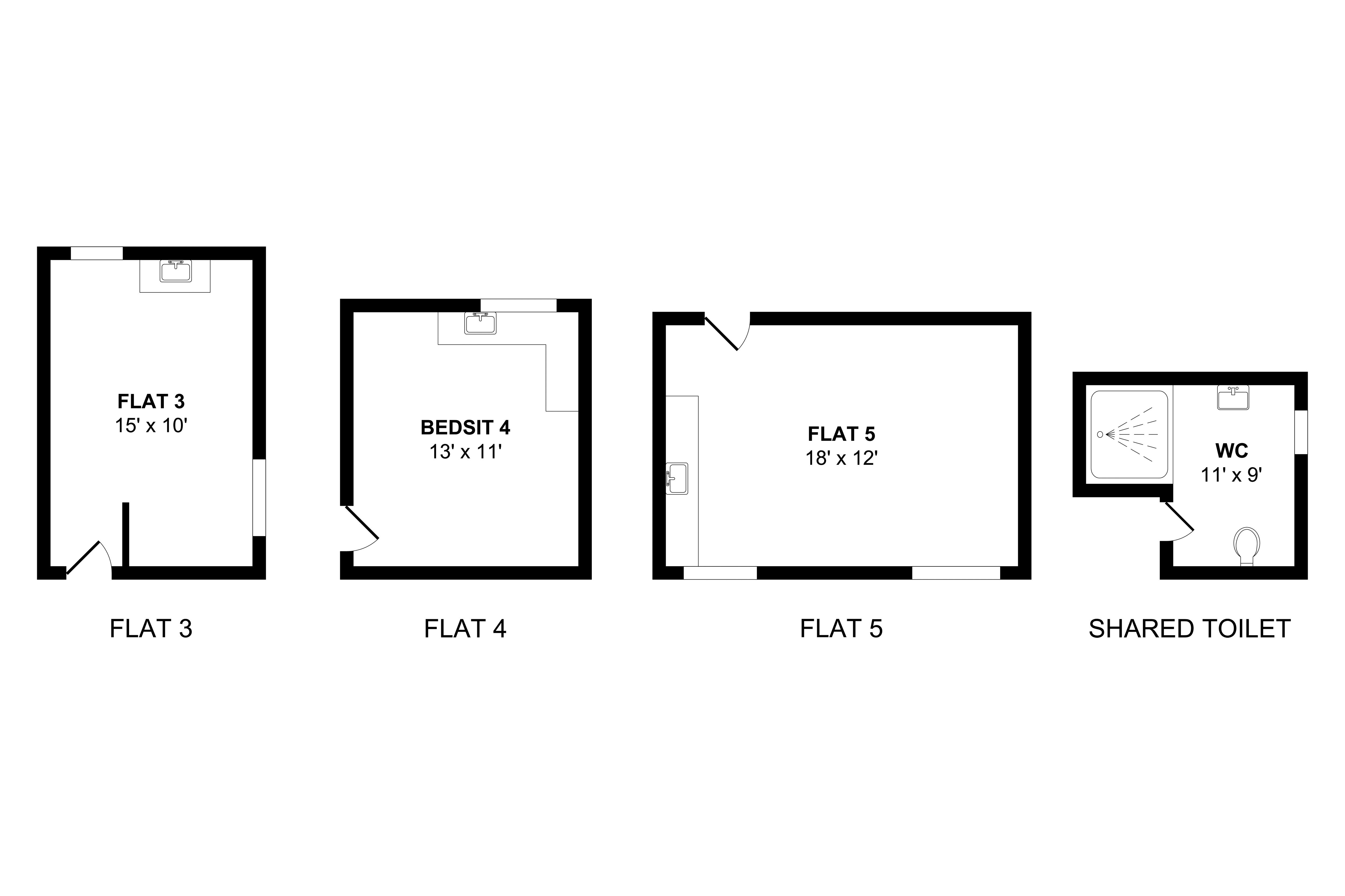 Floorplan Middle Floor