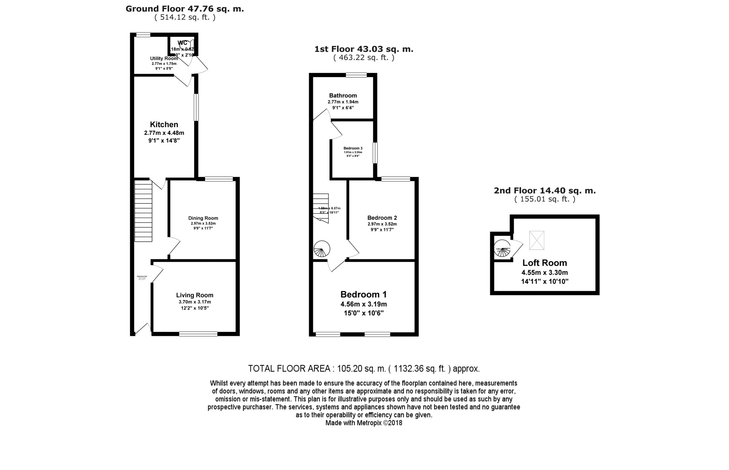 North Street Floorplan