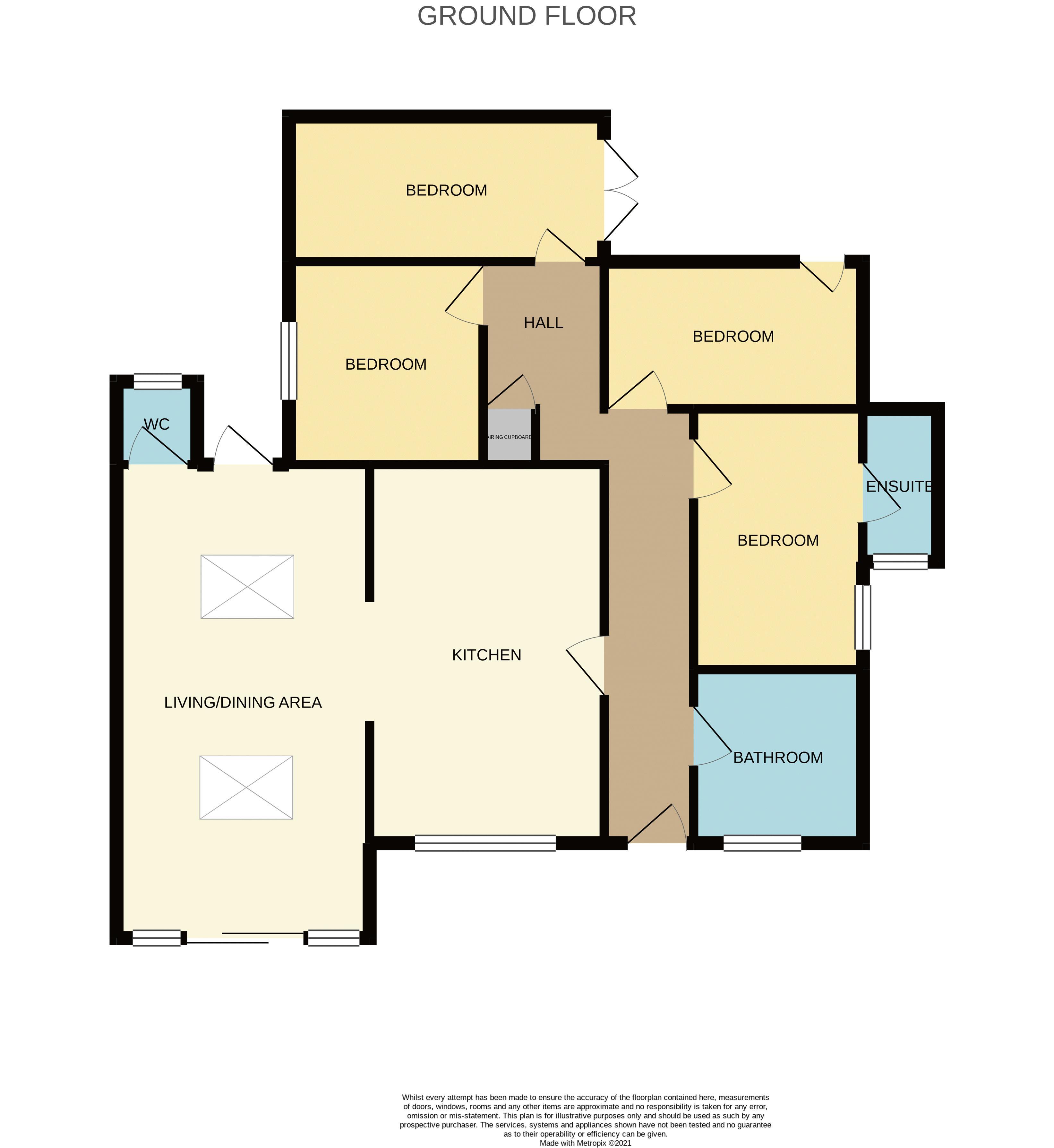 Meadow Cottage Floorplan