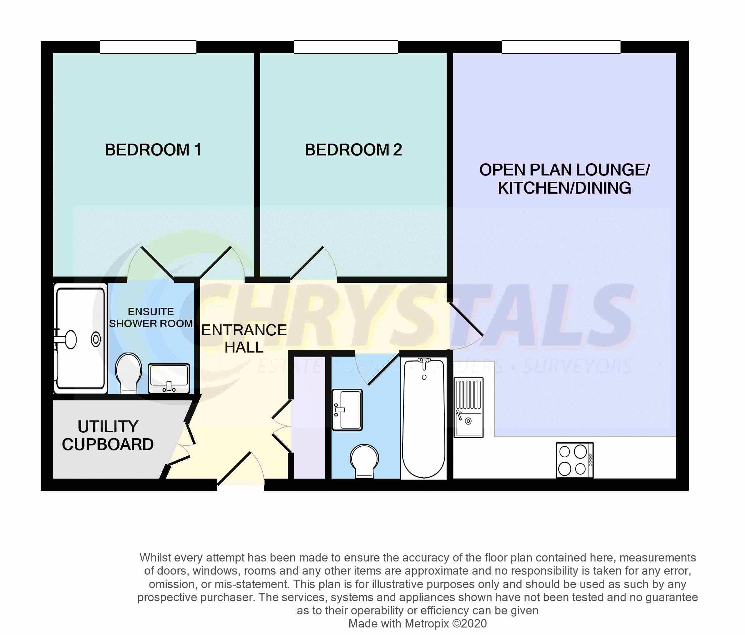 24 Castle Court Apartments, Farrants Way