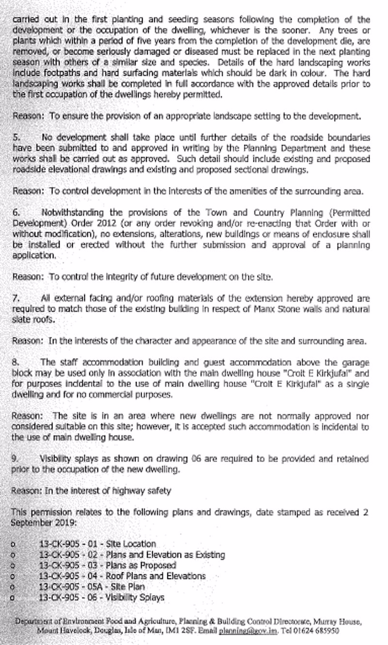 NEW PLANNING APPLICATION PG 2