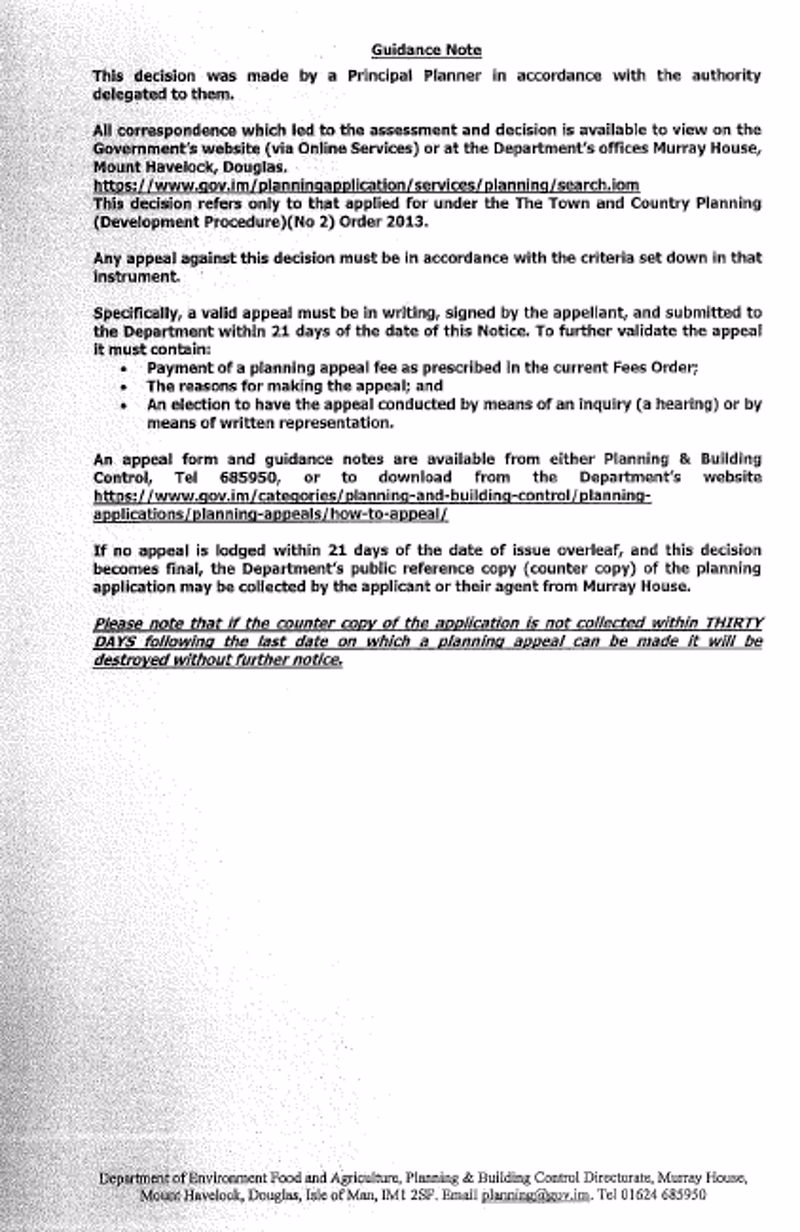 NEW PLANNING APPLICATION PG 3