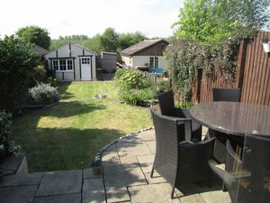View From Kitchen To Rear Garden