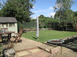 Good Size, Private, Rear Garden